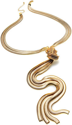 INC International Concepts Gold-Tone Knotted Necklace