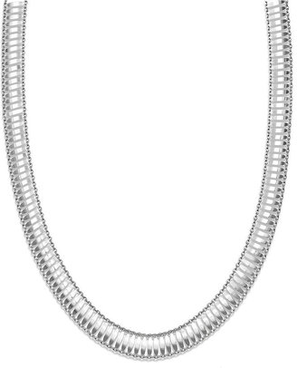 Bernini Giani Sterling Silver Necklace, Multi Row Necklace