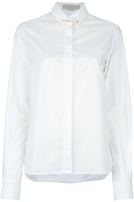 Stella McCartney pined down collar SHIRT