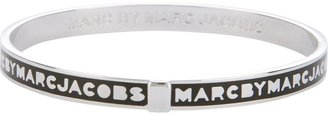 Marc by Marc Jacobs enameled logo bangle