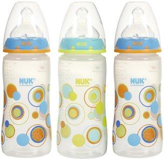 NUK Silicone Spout Bottle - Dots - 10 oz - 3 Pk Boy