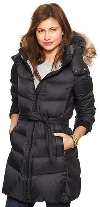 Gap Fur-trim long puffer