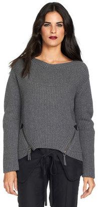 L.A.M.B. Chunky Sweater Heather Gray