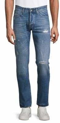 Tiger of Sweden Distressed Slim-Fit Jeans