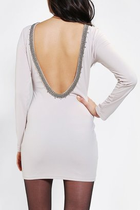 Urban Outfitters Glamorous Embellished Low-Back Bodycon Dress