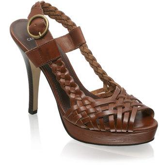 Sarah Jessica Parker Carvela Woven Platform Slingback Sandal