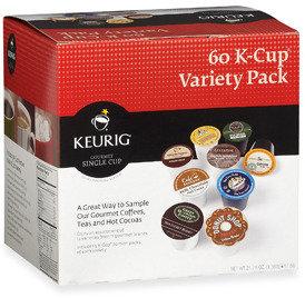 Keurig K-Cup® Variety Pack Coffee for Brewers - Set of 60