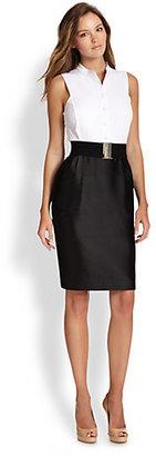 Raoul Colorblock Bib Dress