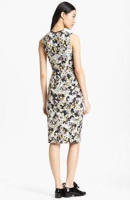 Erdem Floral Print Ponte Jersey Dress