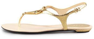 Gucci Bit Flat Thong Sandal