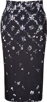 Preen by Thornton Bregazzi Aiden Skirt in Harlequin Leaf