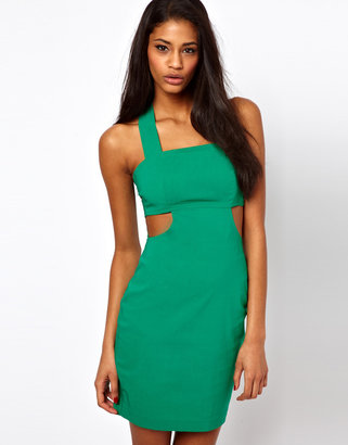 Asos Structured Body-Conscious With Cut Out
