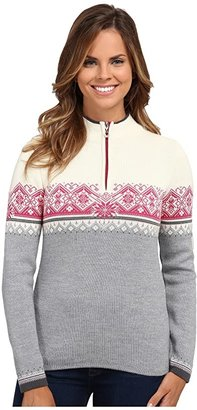 Dale of Norway Moritz Feminine (Grey Mel/Schiefer/Off White/Allium) Women's Sweater