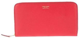 Giorgio Armani zipped wallet