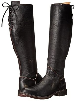 Bed Stu Manchester (Black Hand) Women's Zip Boots