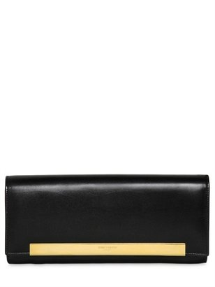 Saint Laurent Lutetia Natural Leather Clutch