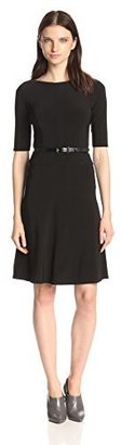 Anne Klein Women's Jersey Swing Dress