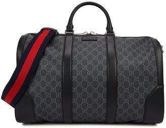 Gucci GG Supreme Medium Monogrammed Holdall