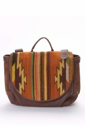 Will Leather Goods Postal Bag Oaxacan in Brown
