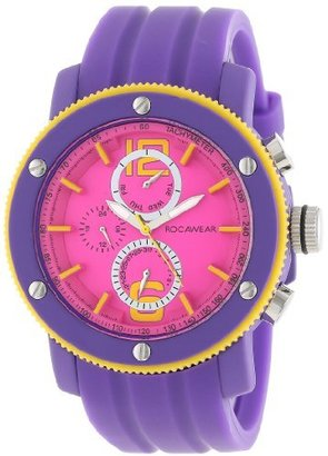 Rocawear Women's RL0128T1-994 Stylish Bracelet Enamel Bezel Watch $85 thestylecure.com
