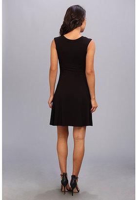 Karen Kane Extended Sleeve Panel Dress