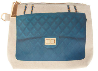 Thursday Friday Here Teal Purse