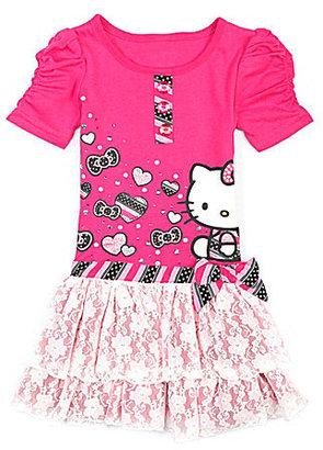Hello Kitty 2T-6X Drop-Waist Dress