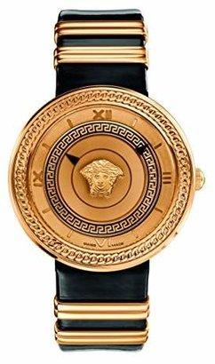 Versace Women's VLC030014 V-METAL ICON Analog Display Swiss Quartz Watch