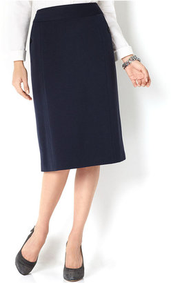Charter Club Skirt, Solid Pencil