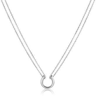 Adina Tiny Horseshoe Necklace