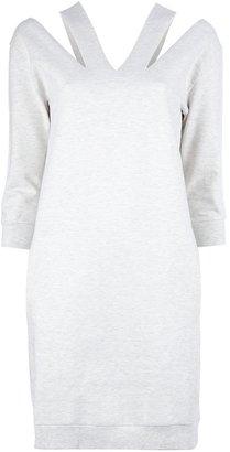 Maison Martin Margiela Cut-out detailed sweater dress