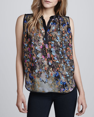 Parker Tess Sleeveless Printed Top