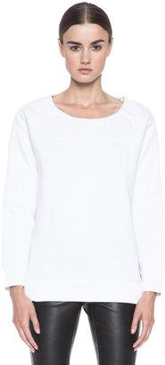 Maison Martin Margiela Sweatshirt in White
