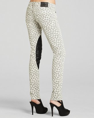 BCBGeneration Pants - Faux Leather Printed Skinny