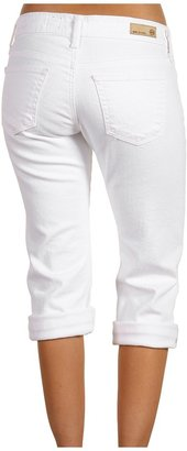 AG Adriano Goldschmied Tomboy Crop in White (White) - Apparel