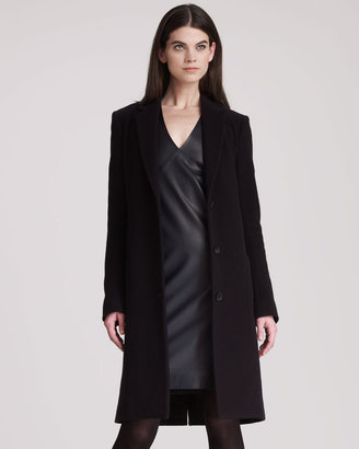 The Row Wool Cashmere Long Coat