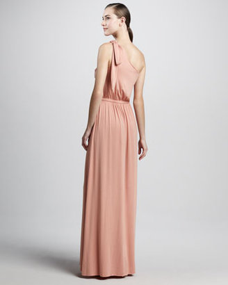 Rachel Pally Felix One-Shoulder Maxi Dress