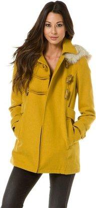 Angie Hooded Toggle Jacket
