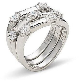 JCPenney DiamonArt® Cubic Zirconia Stackable Rings