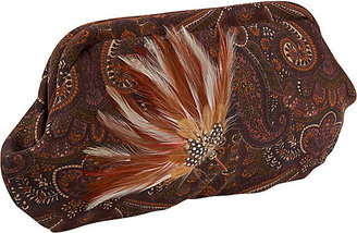 The Jesse B. Collection Aubergine Clutch