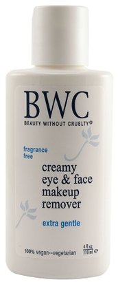 Beauty Without Cruelty Extra Gentle Creamy Eye & Face Makeup Remover