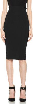 Versace Pencil Skirt in Black