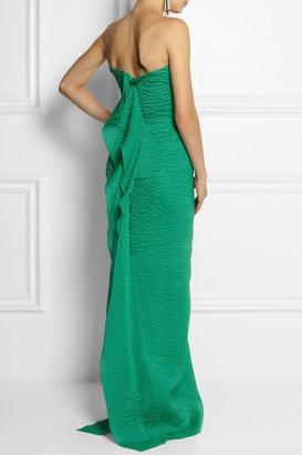 Roland Mouret Henderson stretch-silk organza gown
