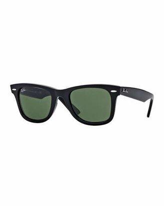 Ray-Ban Classic Wayfarer Sunglasses, Black $150 thestylecure.com