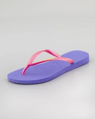 Havaianas Slim Flip-Flop, Violet