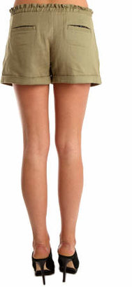 Charlotte Ronson Army Paper Bag Short