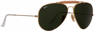 Ray-Ban RB3029 Outdoorsman II Sunglasses $150 thestylecure.com