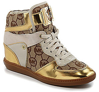 MICHAEL Michael Kors Nikko High-Top Wedge Sneakers