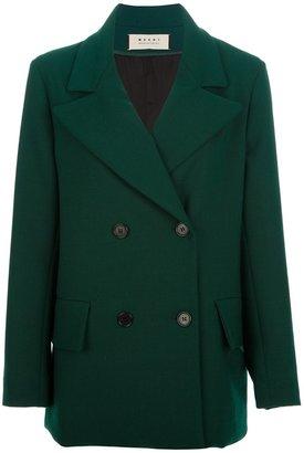 Marni double breasted overcoat