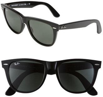 Ray-Ban 'XL Wayfarer' Sunglasses